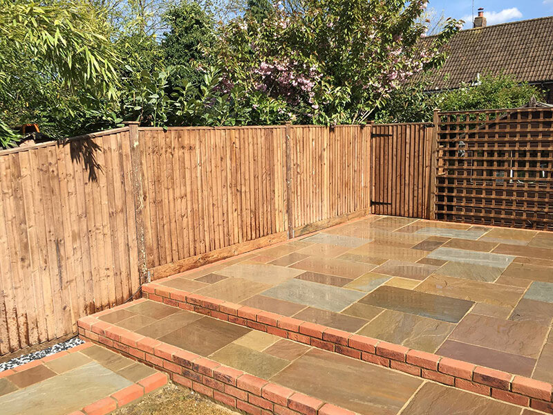 patio fencing ruxley landscapes bexley kent