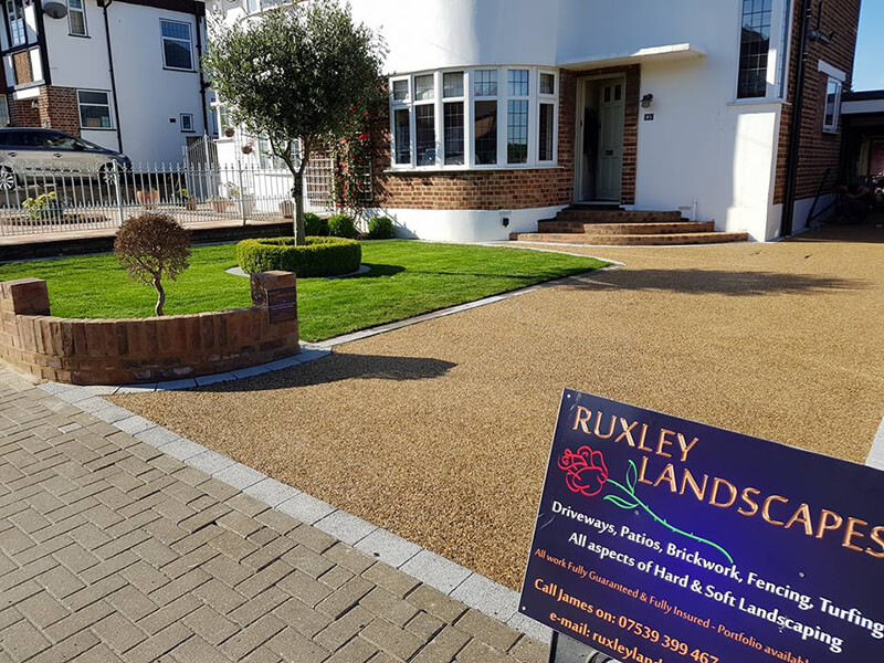 resin bound driveways ruxley landscapes bromley bexley kent